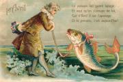 Waarom plakken we op 1 april vissen op iemands rug?
