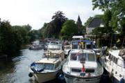 Afsneekermis met bootjeswijding (Afsnee (Gent))
