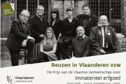 LECA trots op erfgoedprijs voor Reuzen in Vlaanderen