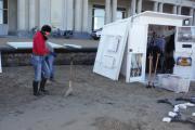 Traditiedrager van de maand: Ann Vanhoorne heeft een strandcabine