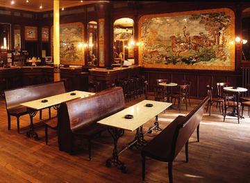 Brasserie harmonie ronse leca landelijk for Harmonie interieur